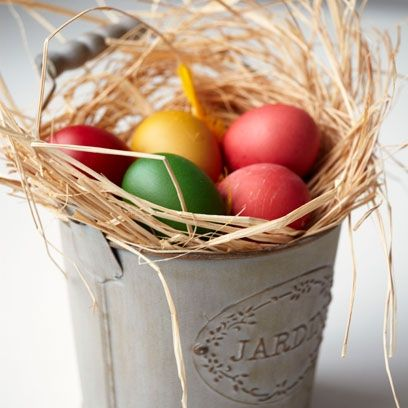 97 best stylish easter ideas images on pinterest best recipes for a simple easter display decorate your own blown out eggs in bright pastel negle Choice Image