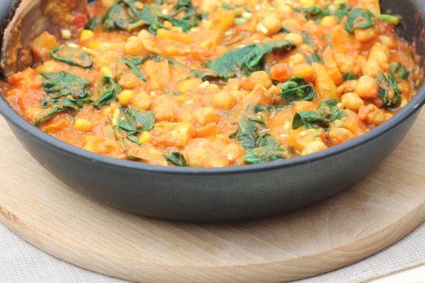 Kuchnia w wersji light: Curry z ciecierzycy