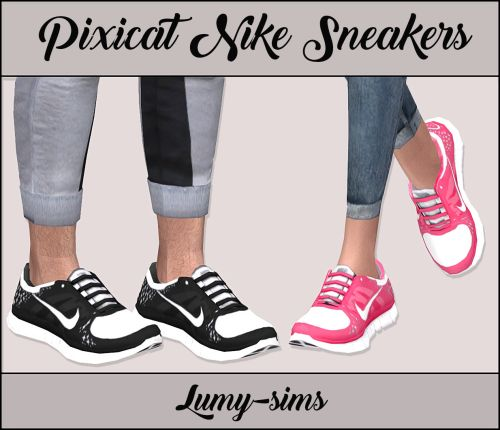 http://lumy-sims.com/post/152161091691/pixicat-nike-sneakers-for-female-male-and#_=_