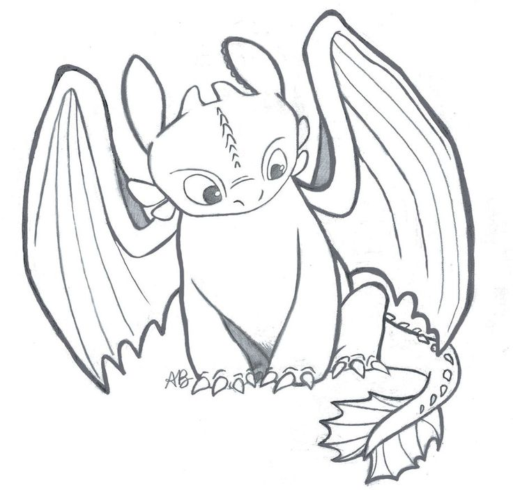 how to train your dragon 2 drawing | How To Train Your Dragon: Toothless the Night Fury by Alexbee1236