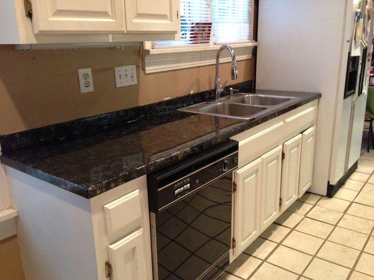 How To Create Faux Granite Countertops Recipe Faux Granite Countertops Granite Countertops