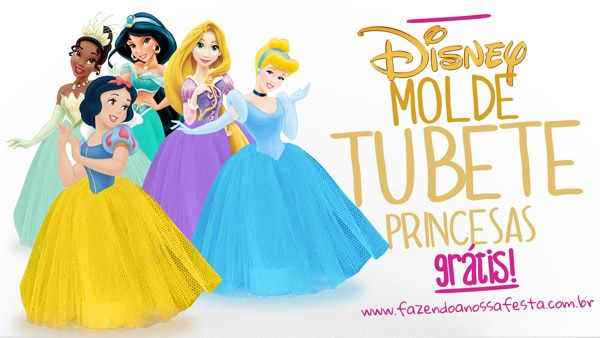 Tubete Vestido De Princesa