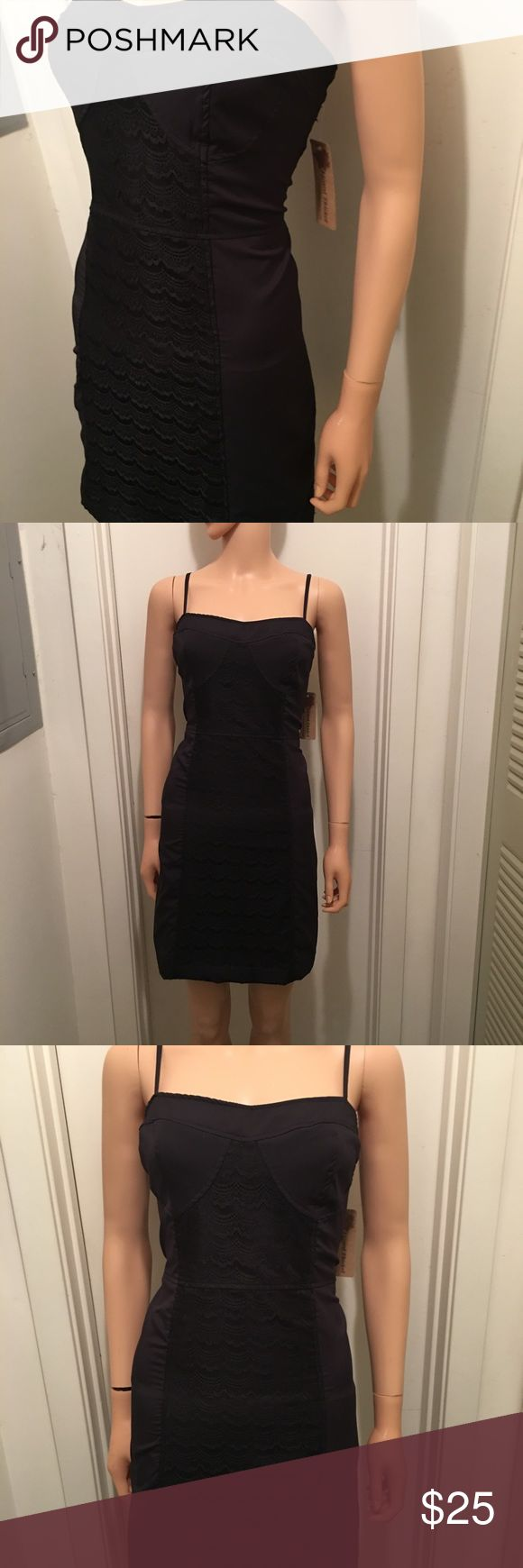 Anthropologie 'Tulle' ~ Sexy Little Black Dress The item you are considering is an Anthropologie 'Tulle' little black dress. NWT! Women's Sz Large. Tulle Dresses Midi