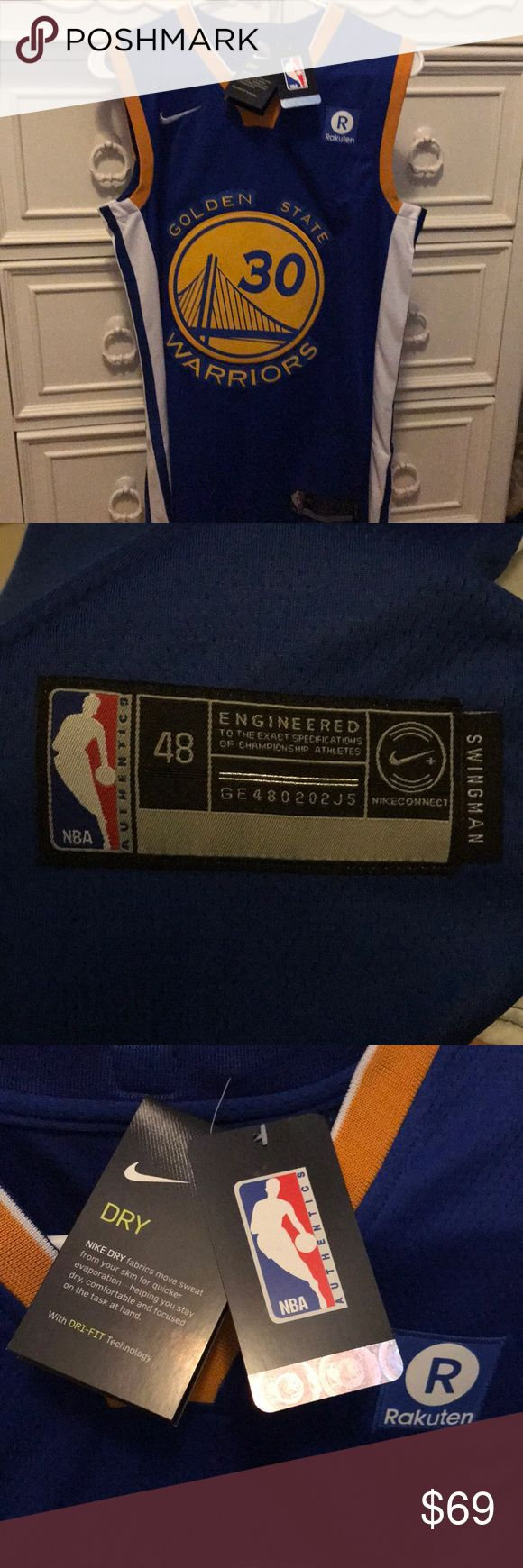 Brand new Nike STEPHEN CURRY #30 (Medium) Brand new with tags never worn.  Nike Steph Curry #30 Jersey Nike Other