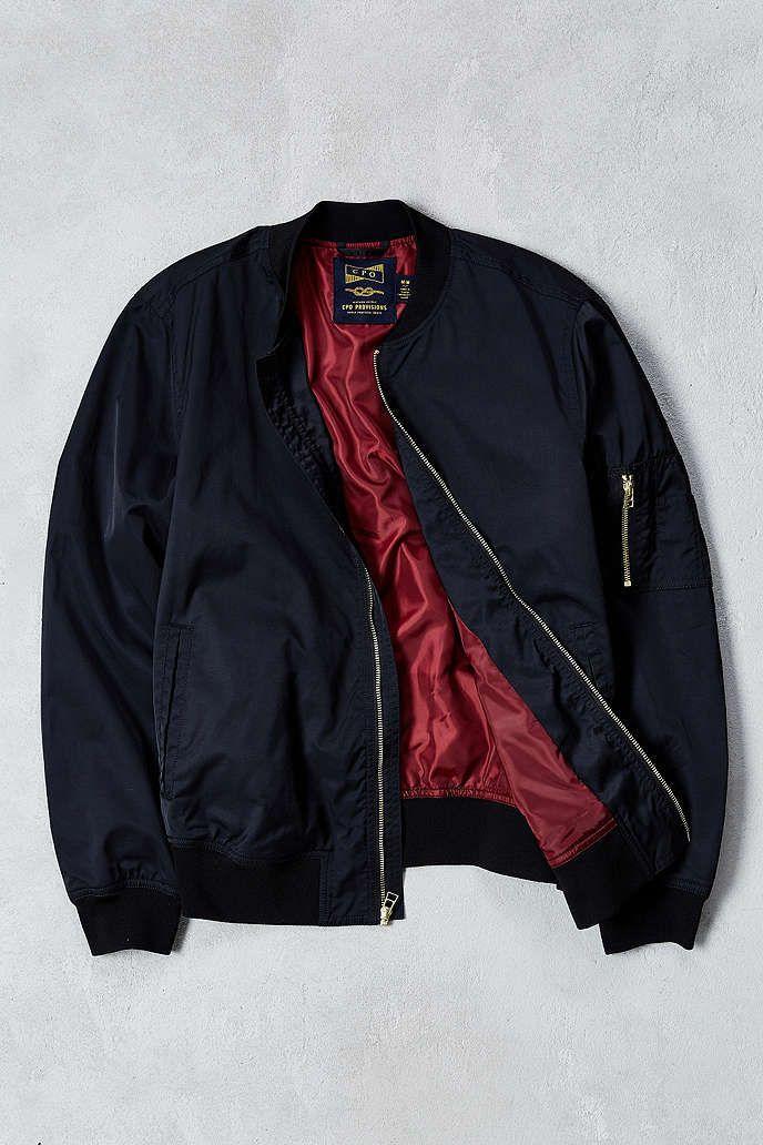 CPO Nylon Summer Bomber Jacket - Urban Outfitters