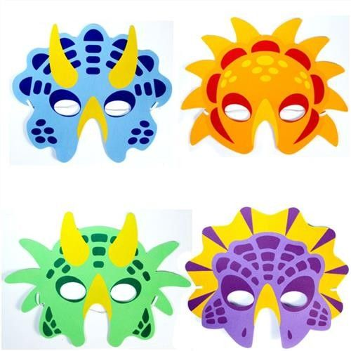 dinosaur mask - Hledat Googlem