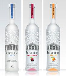 Polish vodka - Belvedere