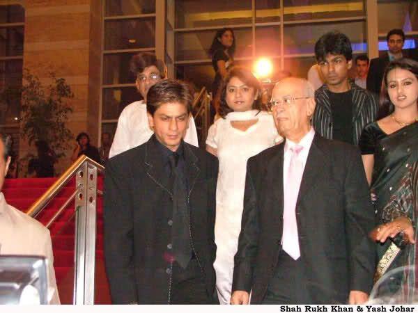 Shahrukh Khan and Yash Johar