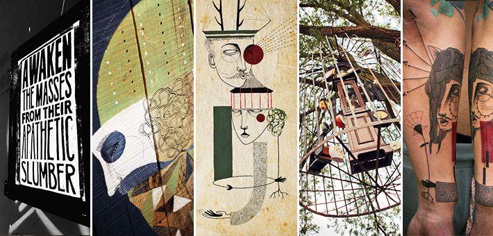 Εξαιρετικά Σχέδια, Installations και Τατουάζ από το καλλιτεχνικό δίδυμο Expanded Eye