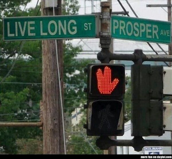 Star Trek crossroad -- for all you Star Trek nerds