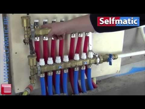 Comment brancher une plomberie sans soudure Multicouche chauffage - YouTube