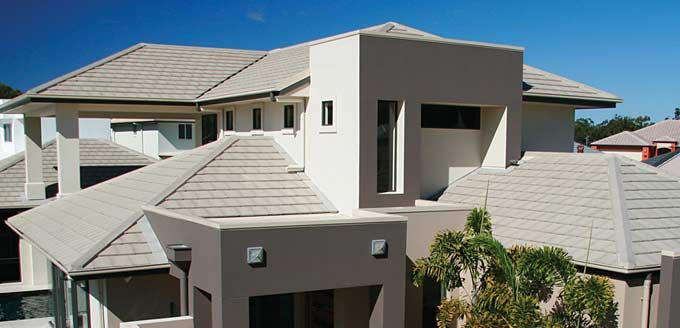Monier Concrete: Horizon. Colour: Wild Rice with A-line ridging to further add to the sleek look.