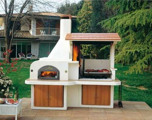 Small outdoor BBQ    Outdoor BBQ Kitchen Islands Spice Up Backyard Designs and Dining ...