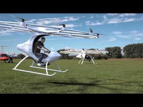 Volocopter Es El Primer Dron Para Transporte Humano