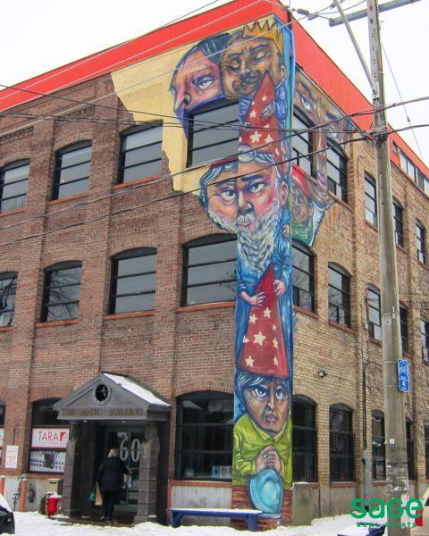 Graffiti in Corktown, Toronto