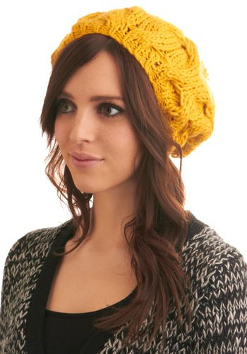Kinda want to  buy one. Just not this color.: Stand In Hat, Beanie, Sun Stand In, Things, Modcloth Com, Sun Hats