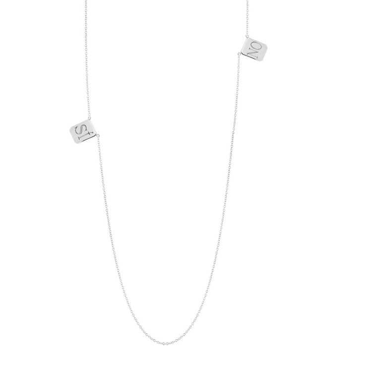 SI∙NO Edition Tag Necklace $180 from Billy (AKA Candice Pool) I love this. I would totally layer it with my L necklace.