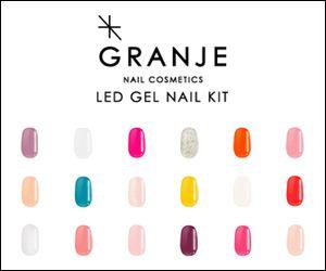 GRANJE NAIL COSMETICSのバナーデザイン