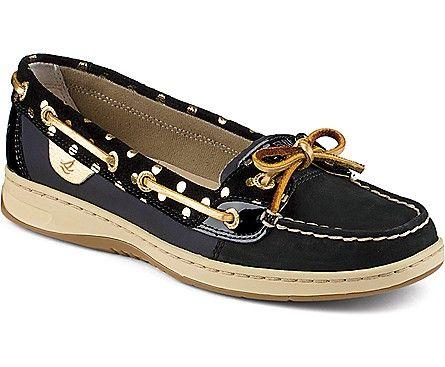 Sperry Top-Sider Angelfish Foil Dot Slip-On Boat Shoe  LOVE the black too