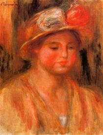 Portrait of a Woman - Pierre-Auguste Renoir