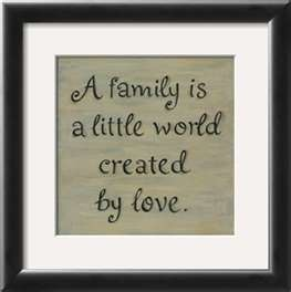 Love my family....LOVE THIS SHORT AND SWEET