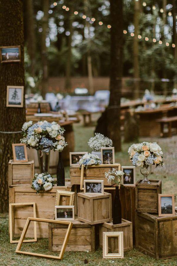 60 Hochzeitsideen zum Thema Wald, die schön für den Sommer sind | Home Design und Inter …   – Forest wedding