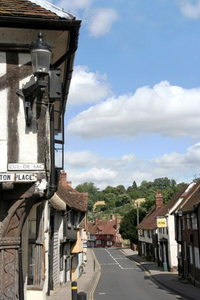The lovely medieval town of Saffron Walden in Essex, UK