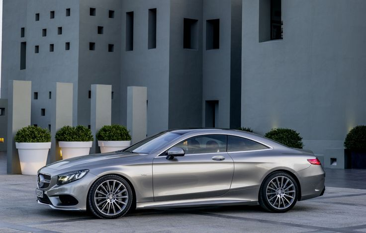 New 2015 S-Class coupe