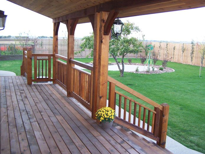 Western Cedar Porch Pictures Entries Verandas Amp Porches