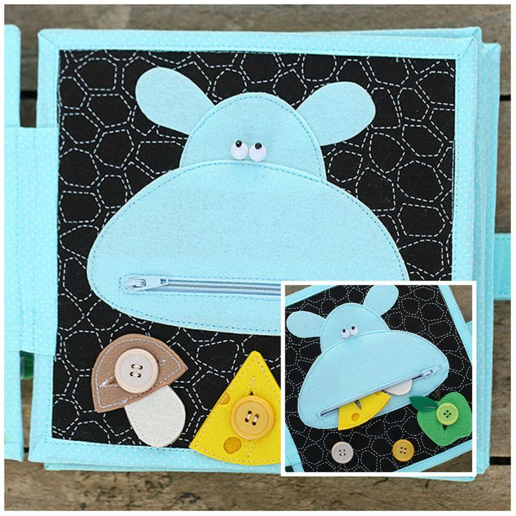 Personalized 4 Page Quiet Book Busy Book Interactive Children'S TOY | eBay