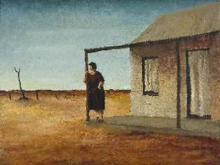 Russell Drysdale - evening source