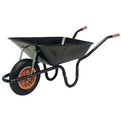 Buy Parasene Heavy Duty Wheelbarrow 90Ltr at Guaranteed Cheapest Prices with Rapid Delivery available now at Greenfingers.com, the UK's #1 Online Garden Centre.