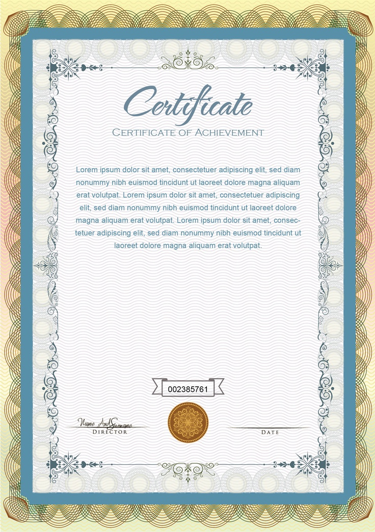 best 20  sample certificate of recognition ideas on