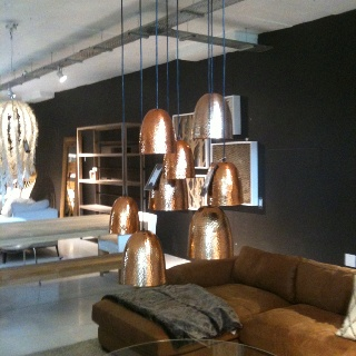 Weylandts light fittings - love these copper lights