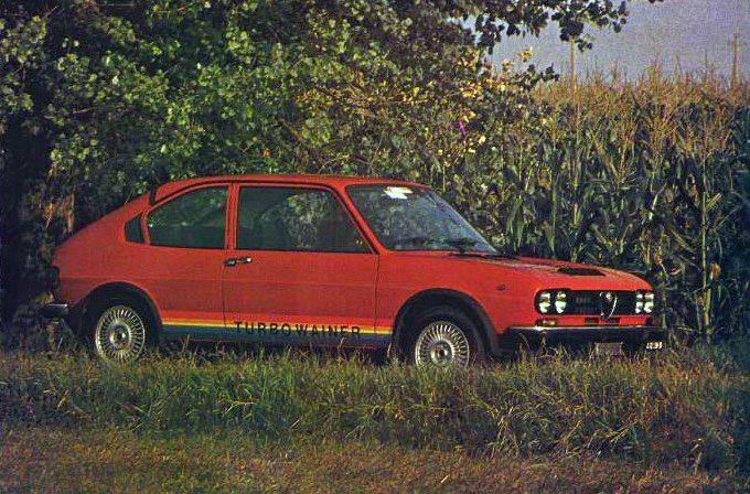 AUTODELTA - finest Alfa Romeo car tuning: Alfa Romeo Alfasud Turbowainer