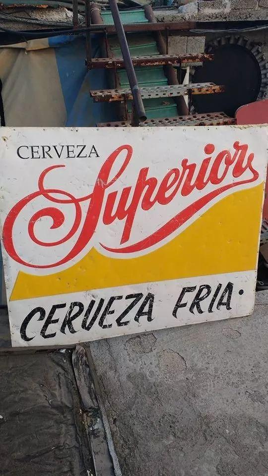 Antiguo Anuncio De Cerveza Superior - $ 1,000.00 en Mercado Libre