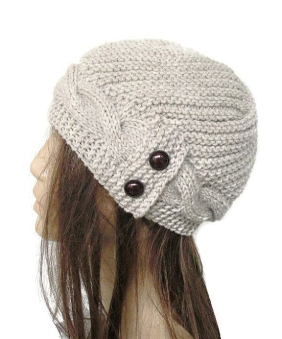 Hey, I found this really awesome Etsy listing at https://www.etsy.com/listing/67262209/womens-winter-hat-hand-knit-hat-winter