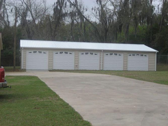 Steel 5 Bay Garage Garage Pinterest
