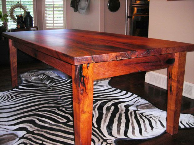 Texas mesquite dinning room table  1 1 2  thick  30  tall48 best Mesquite projects images on Pinterest   Furniture ideas  . Mesquite Dining Room Tables. Home Design Ideas