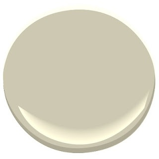 Peaceful Green paint color- Love it!   Benjamin Moore Camouflage 2143-40