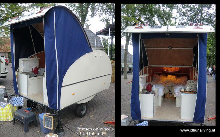 """Emmen on wheels 2015 Holland Een van de oude """"caravans"""""""