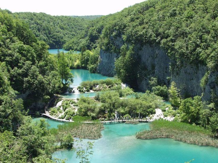 Plitvicei Nemzeti Park - Horvátország (Délkelet-Európa)