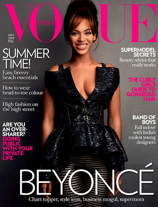 Beyonce's Tour Rider Is Revealed   Vogue India Cover
