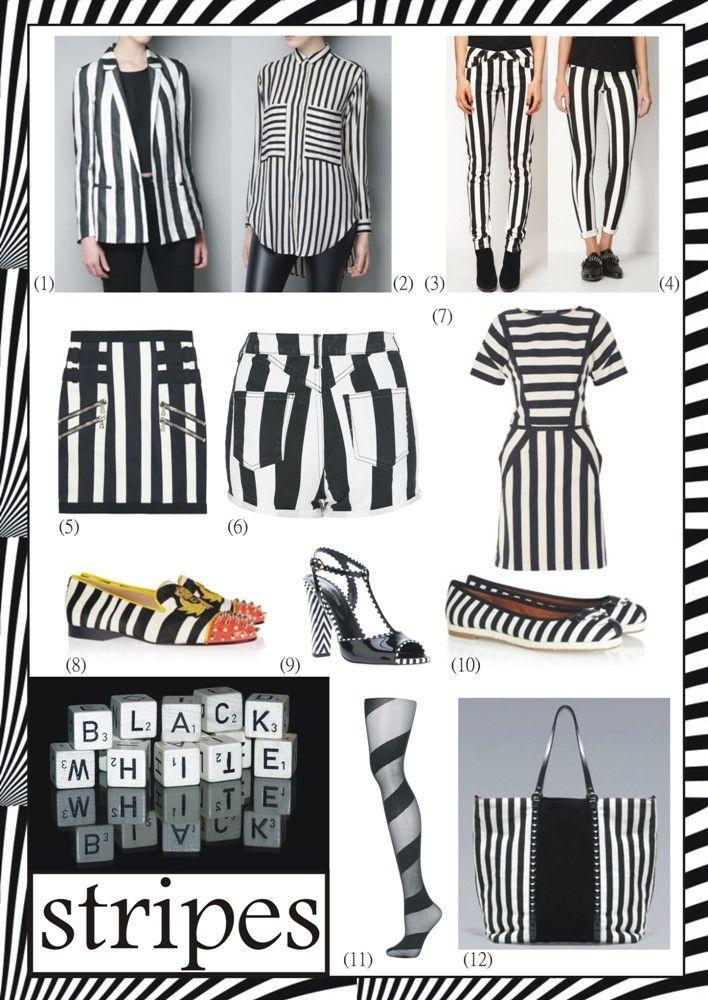 #11 || SS || B/W stripes ‹ Blogging Fashion