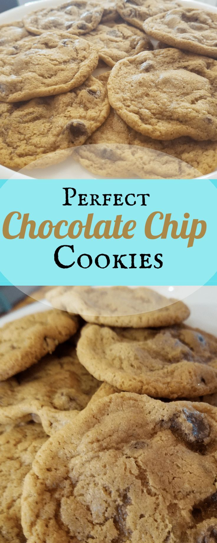 """Alright, so I know you are probably thinking….. """"Not another chocolate chip cookie recipe.."""" but I Just could not have a blog without my very own recipe for Chocolate Chip Cookies…"""