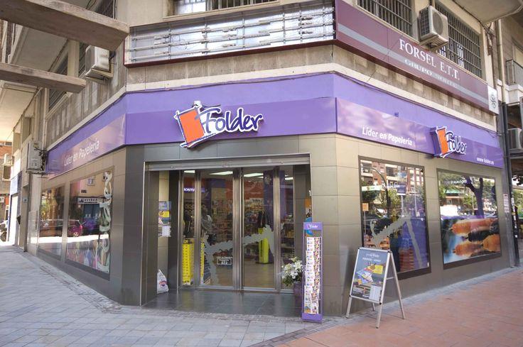 Otro de nuestros clientes, de nuestras reformas en Murcia, FOLDER. Una fachada con clase. #interiorismo #diseño #proyectos #reformas #locales #construccion #fachadas