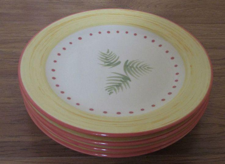 pfaltzgraff pistoulet sprig plates set of 4 jana kolpen - Pfaltzgraff Patterns