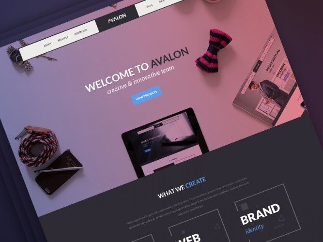 http://downloadpsd.co/avalon-creative-studio-freebie/ Download Avalon Creative Studio Freebie PSD. This Free PSD can be used to create professional websites for your organization, Business & Creative Portfolios and more.