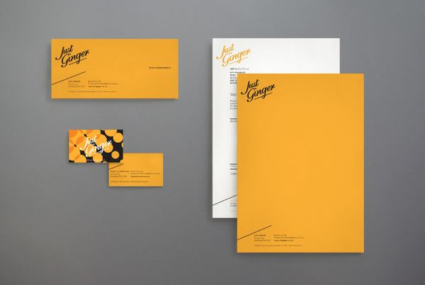 Just Ginger by Ria McIlwraith, via Behance