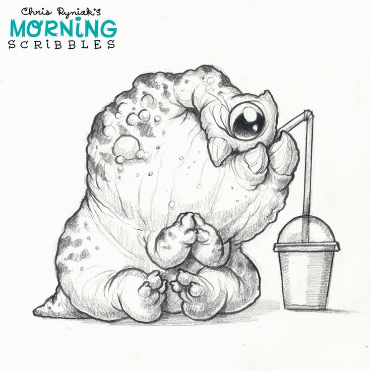 Scribbles Drawing And Coloring Book : Best images about morning scribbles by chris ryniak on